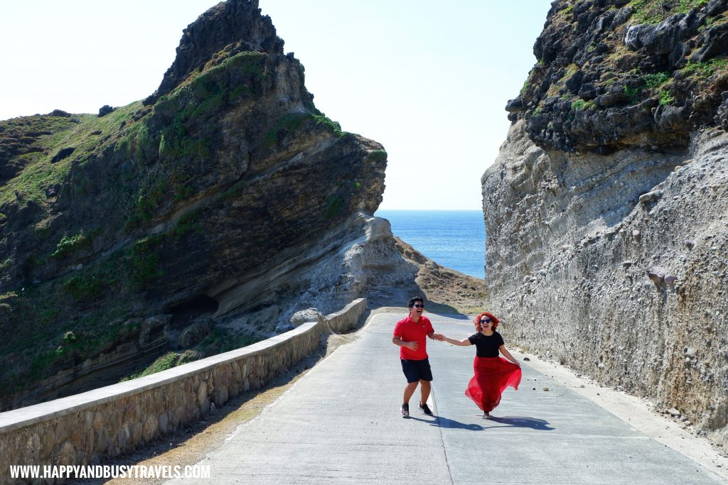 Blow Ur Horn Sign Alapad Rock Formation - Batanes travel guide and itinerary for 5 days 4 - Happy and Busy Travels