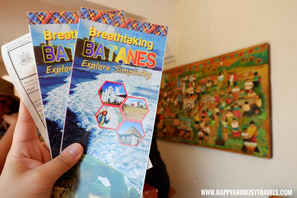 Bataness Passport or Brochure - Batanes 5 day Itinerary of Happy and Busy Travels