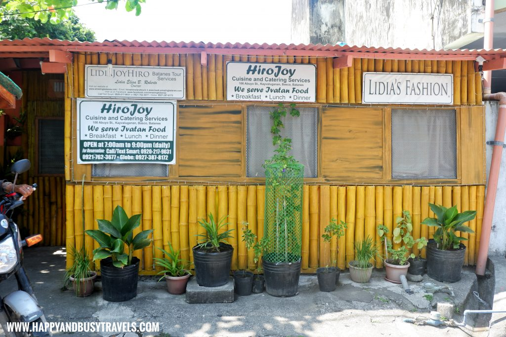 Hiro's Joy Cuisine and Catering - Batanes Travel Guide and Itinerary for 5 days - Happy and Busy Travels