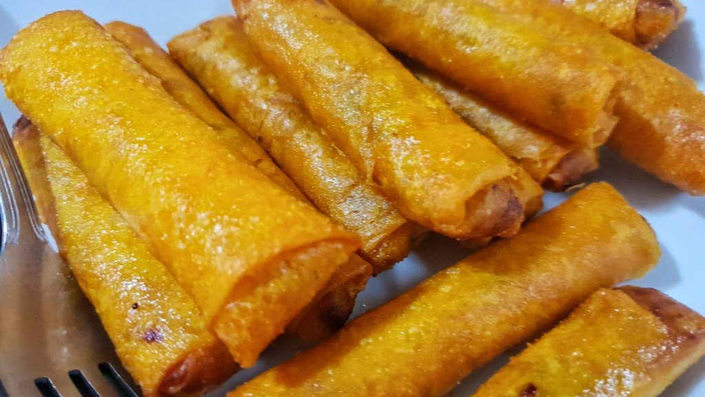Ivatan Fish Spring Rolls PHp 200 - Hiro's Joy Cuisine and Catering - Batanes Travel Guide and Itinerary for 5 days - Happy and Busy Travels