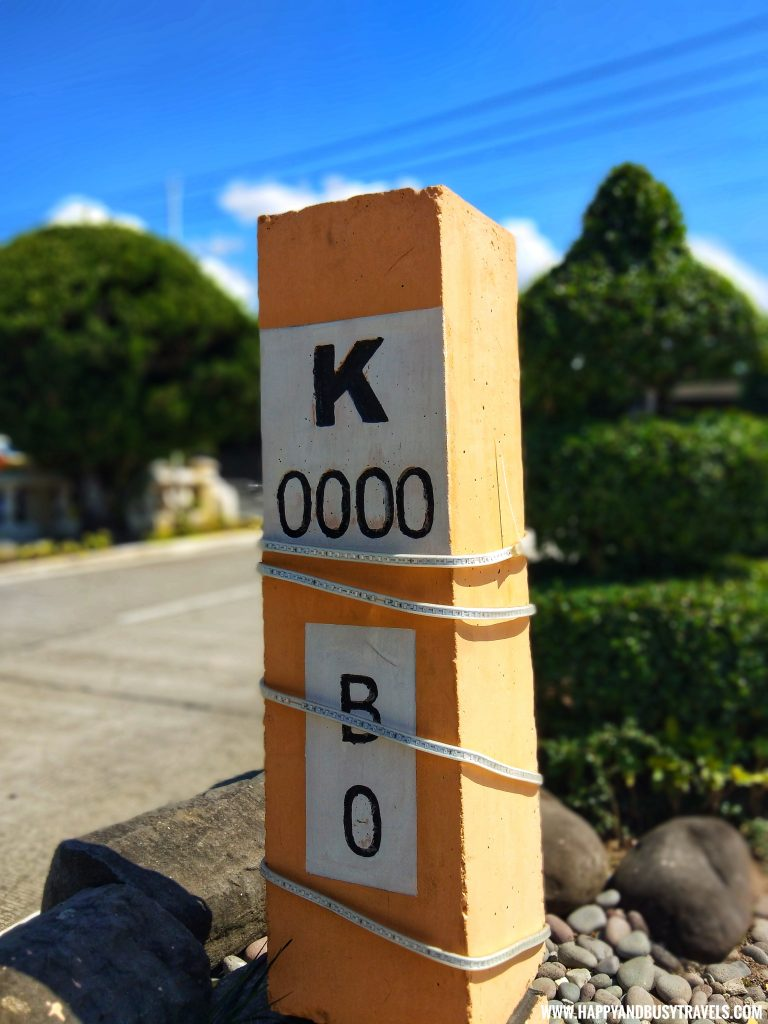 KM 0 marker - Batanes 5 day Itinerary of Happy and Busy Travels