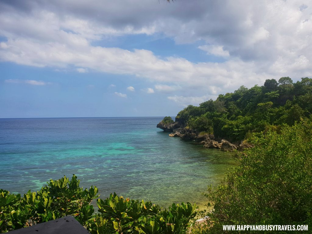 View from Muni Muni Villas at Ocean's Edge Resort Carabao Island Romblon Review Happy and Busy Travels