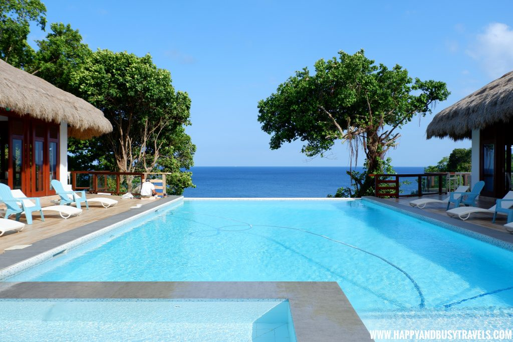 Swimming Pool at Bahandi Clubhouse Ocean's Edge Resort Carabao Island Romblon Review Happy and Busy Travels