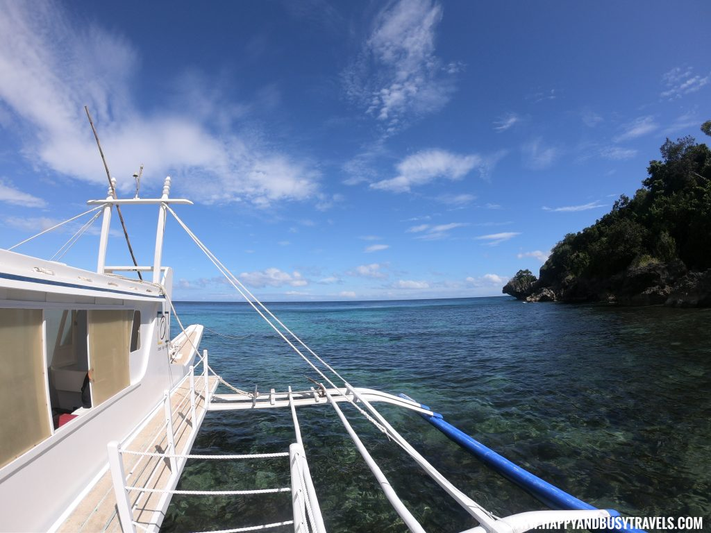 Arriving at Ocean's Edge Resort Carabao Island Romblon Happy and Busy Travels