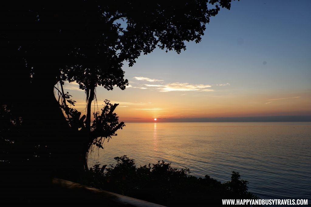 Sunset at Ocean's Edge Resort Carabao Island Romblon Review Happy and Busy Travels