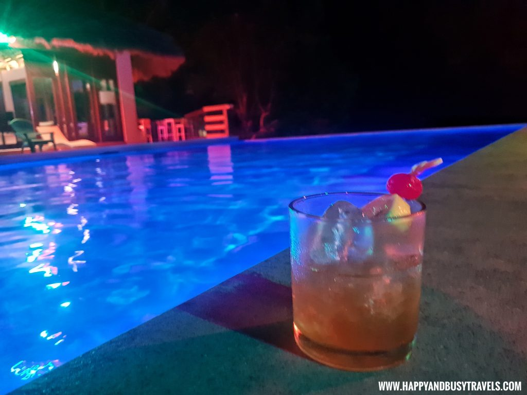 Amorita Sour, a drink at Ocean's Edge Resort Carabao Island Romblon Review Happy and Busy Travels