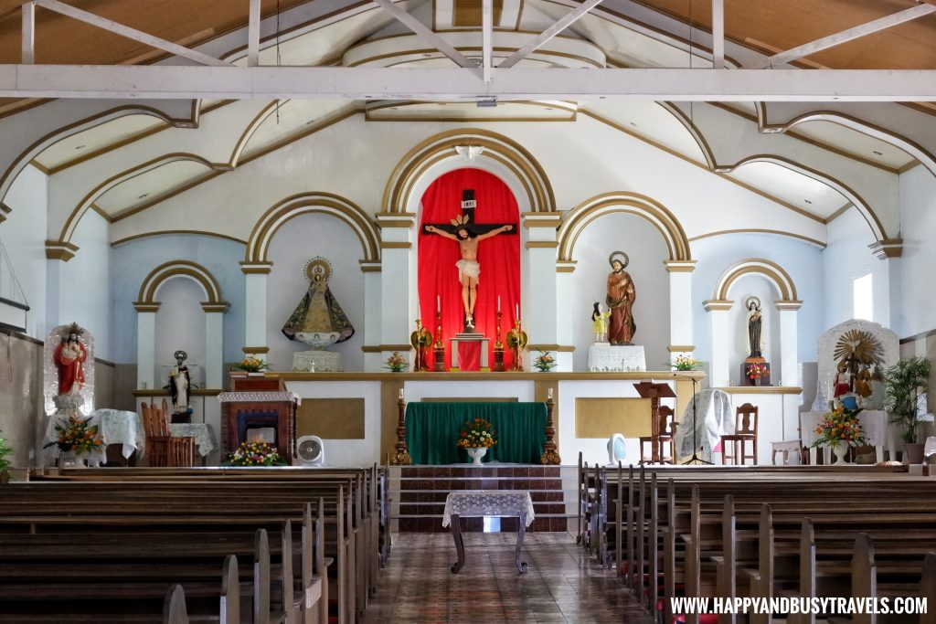 Inside San Jose de Obrero Church - Batanes Travel Guide and Itinerary for 5 days - Happy and Busy Travels