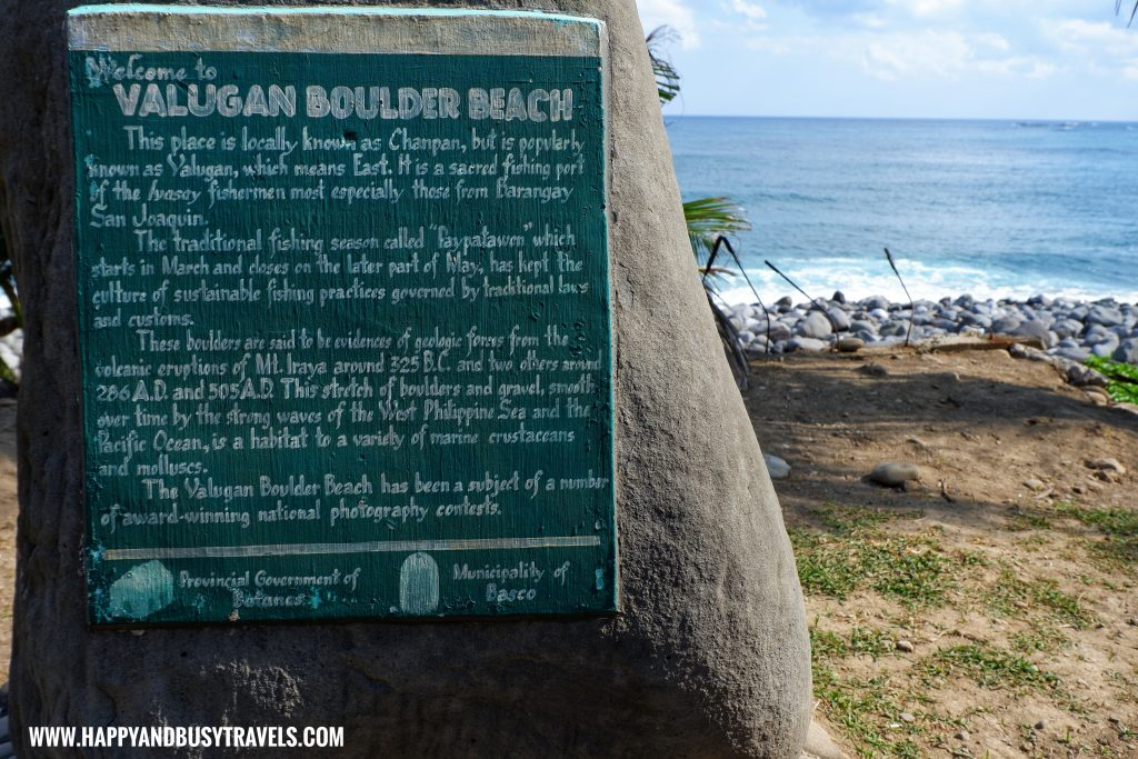 Valugan Boulder Beach - Batanes travel guide and itinerary for 5 days - Happy and Busy Travels to Batanes