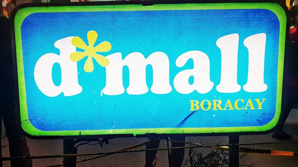D Mall Stores Boracay Island