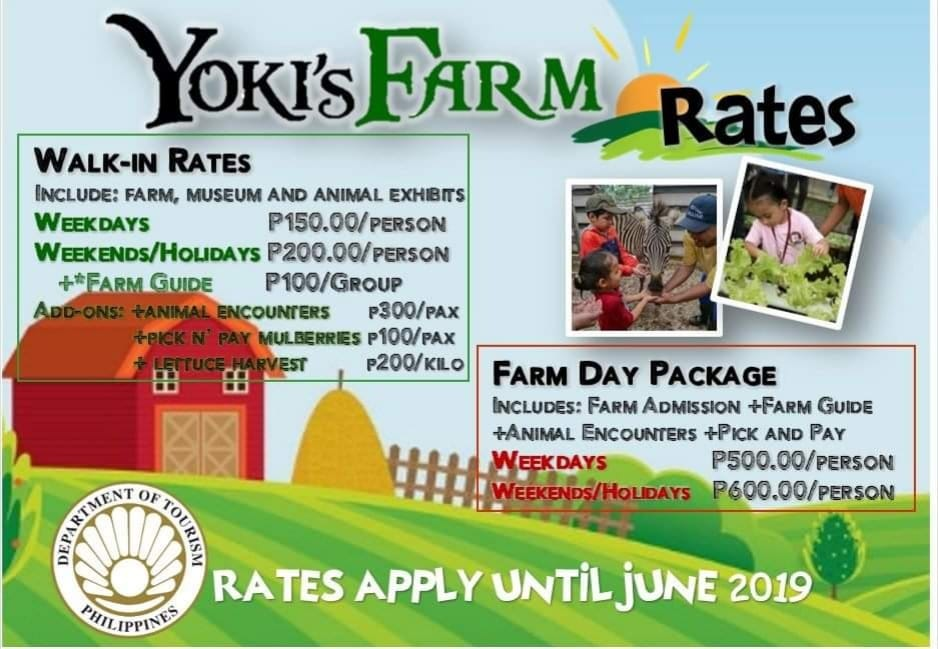 Yoki's Rates and Prices Farm Mendez Cavite Happy and Busy Travels Review