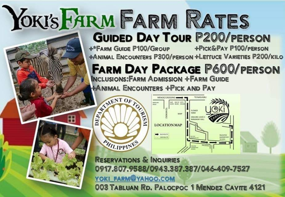 Yoki's Farm rates and prices Mendez Cavite Happy and Busy Travels Review