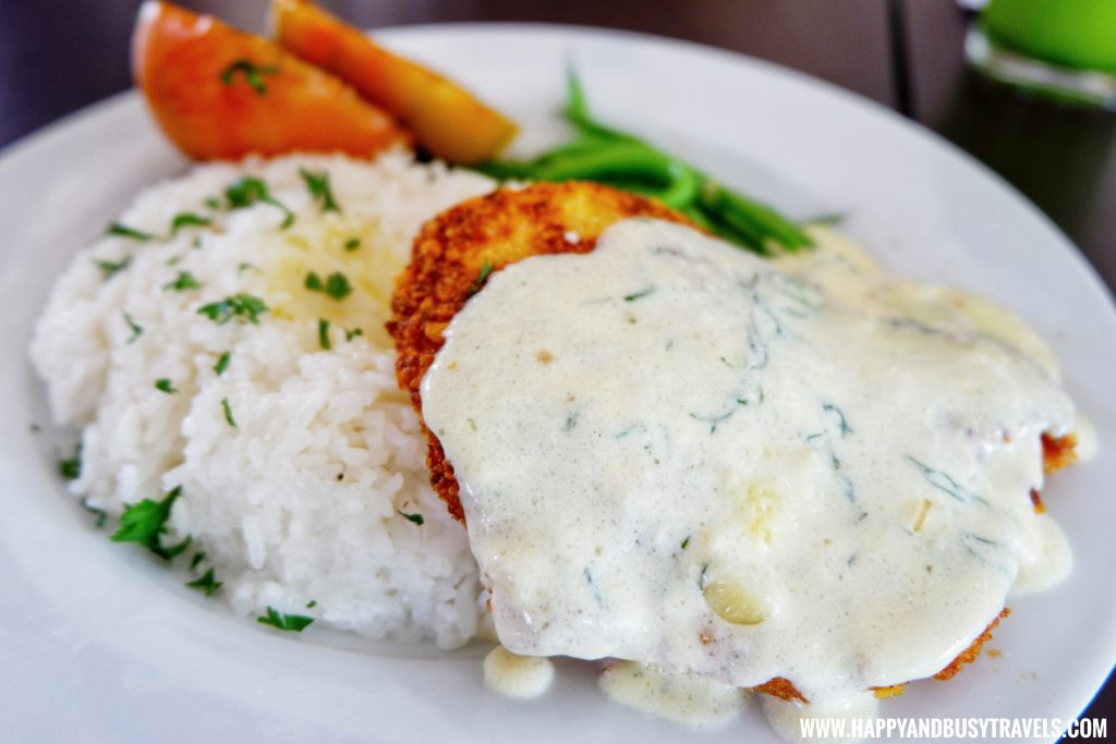 Parmesan Crusted Fish Fillet the farm table restaurant Yoki's Farm Mendez Cavite Happy and Busy Travels Review