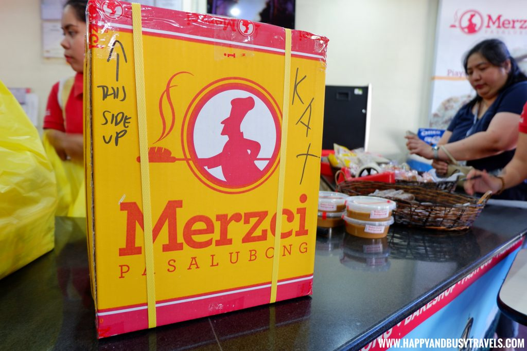 Merzci Pasalubong box Bacolod TOAP Tour Happy and Busy Travels