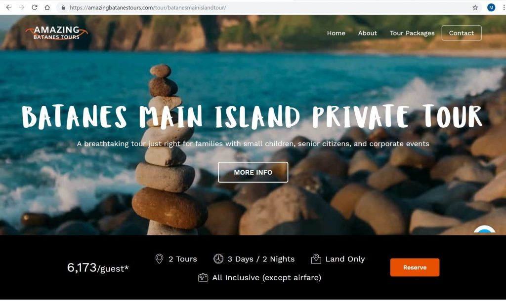 Best Batanes Travel Agency - How to book with Amazing Batanes Tours