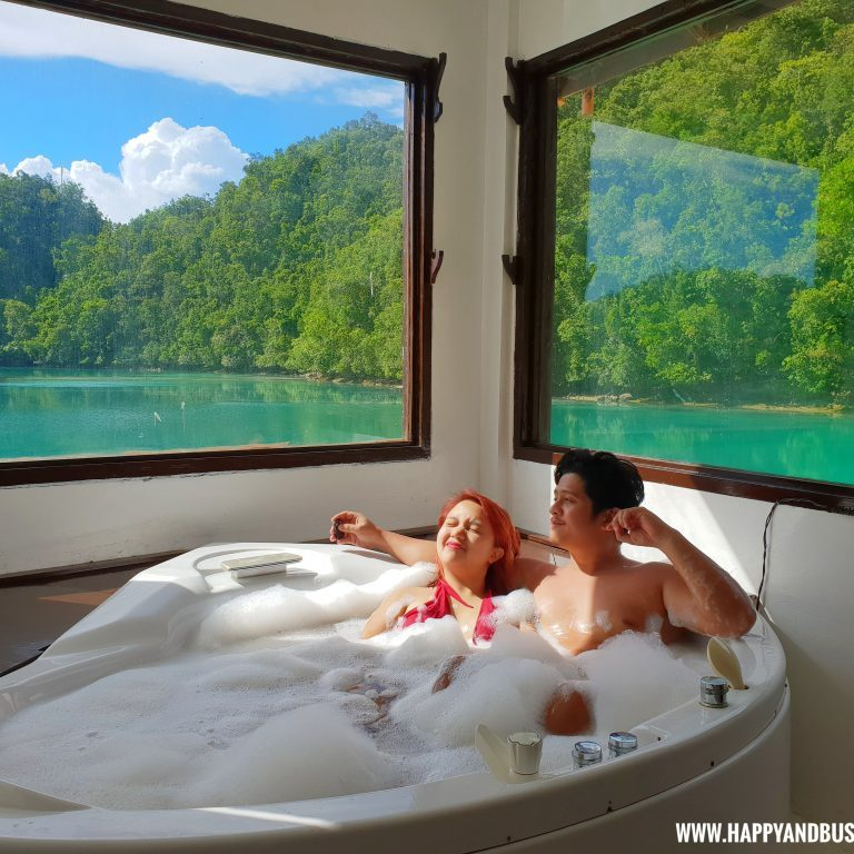 Club Tara Resort Surigao Del Norte Stilt Resort romantic jacuzzi - Happy and Busy Travels