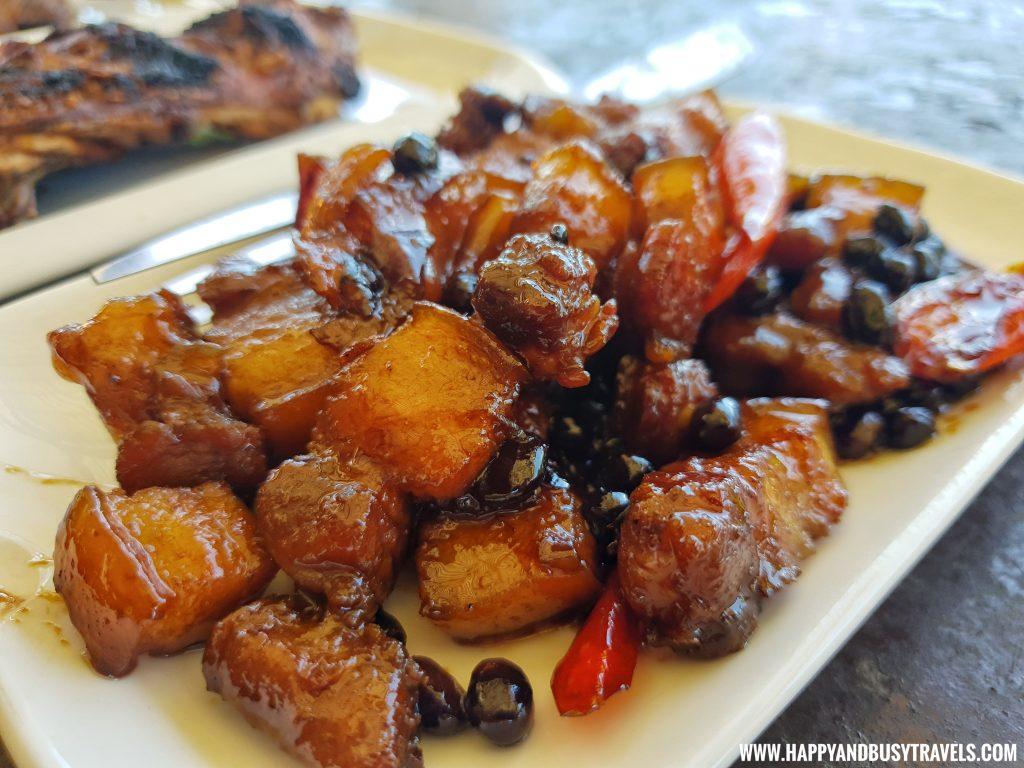 Club Tara Resort Surigao Del Norte Stilt Resort Pork Humba - Happy and Busy Travels