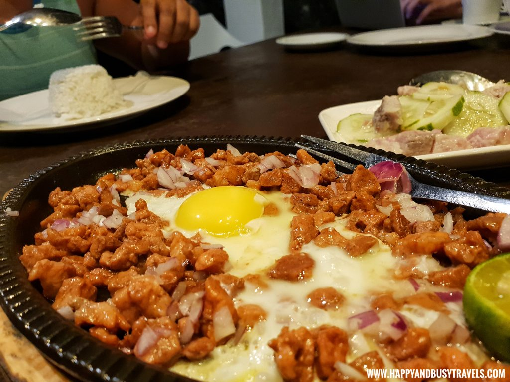 Club Tara Resort Surigao Del Norte Stilt Resort Pork Sisig - Happy and Busy Travels