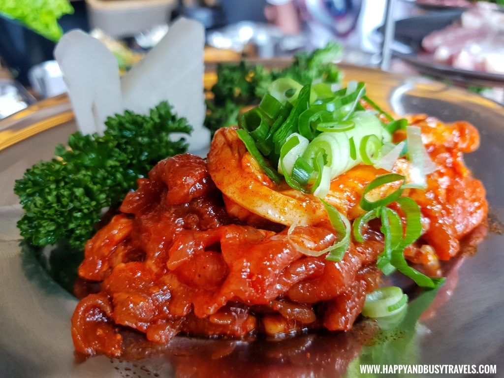 Fantastic Chef Remedios Samgyeupsal spicy pork bulgogi