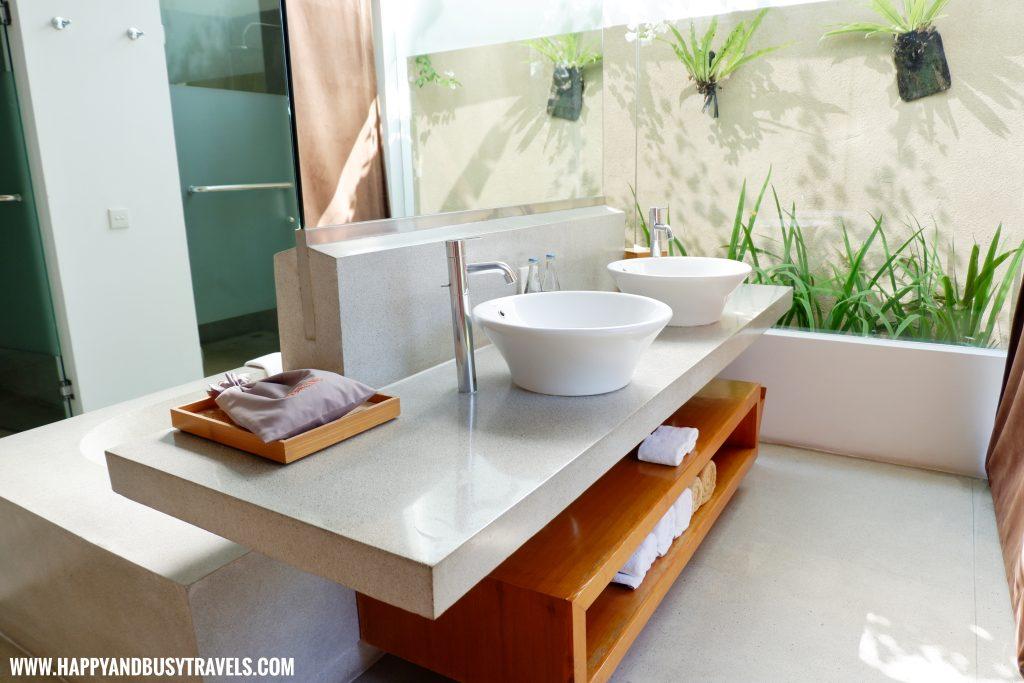 Comfort Room Uma Sapna Villa Hotel and Resort in Seminyak Kuta Bali Indonesia
