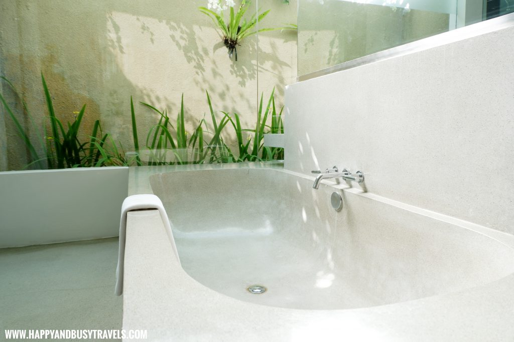 bathtub Uma Sapna Villa Hotel and Resort in Seminyak Kuta Bali Indonesia