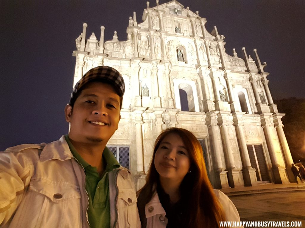 Ruins of St Pauls Macau