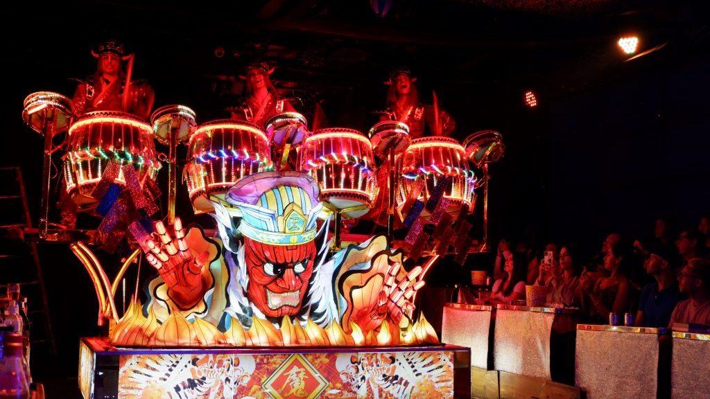 Robot Restaurant show review Tokyo Japan