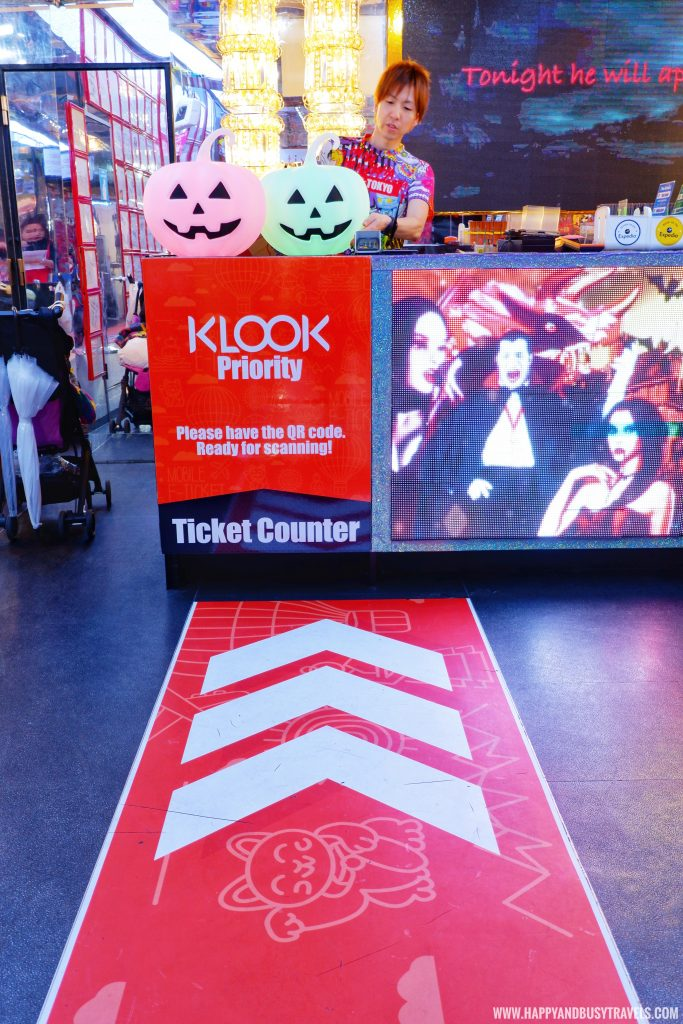 Klook VIP Entrance in Robot Restaurant