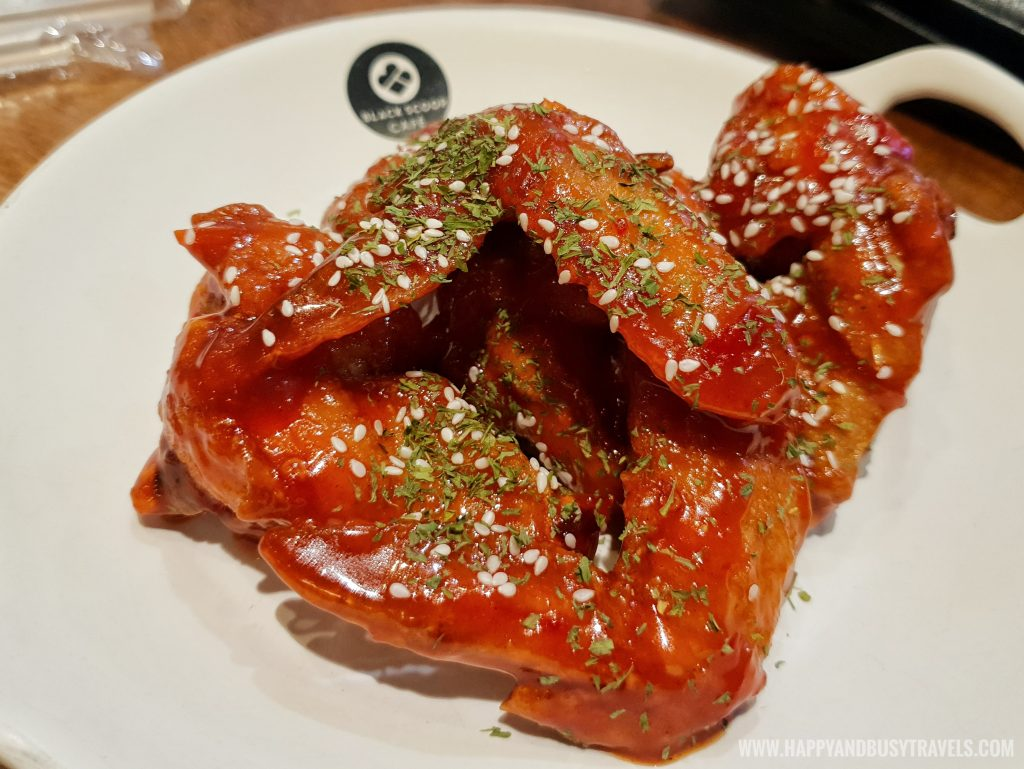Buffalo Wings Black Scoop Cafe SM Dasmarinas Cavite Branch review Happy and Busy Travels