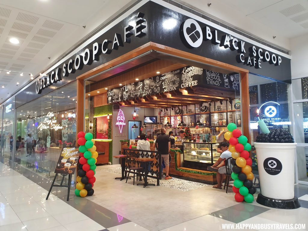 Black Scoop Cafe SM Dasmarinas Cavite Branch review Happy and Busy Travels