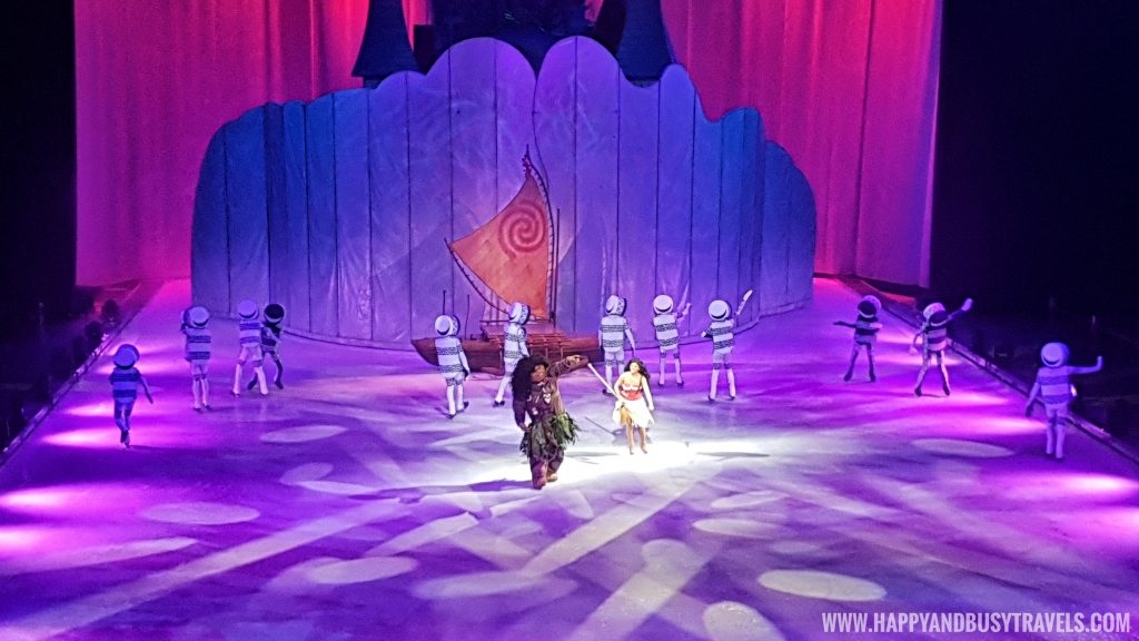 Disney on Ice 2019 moana and maui