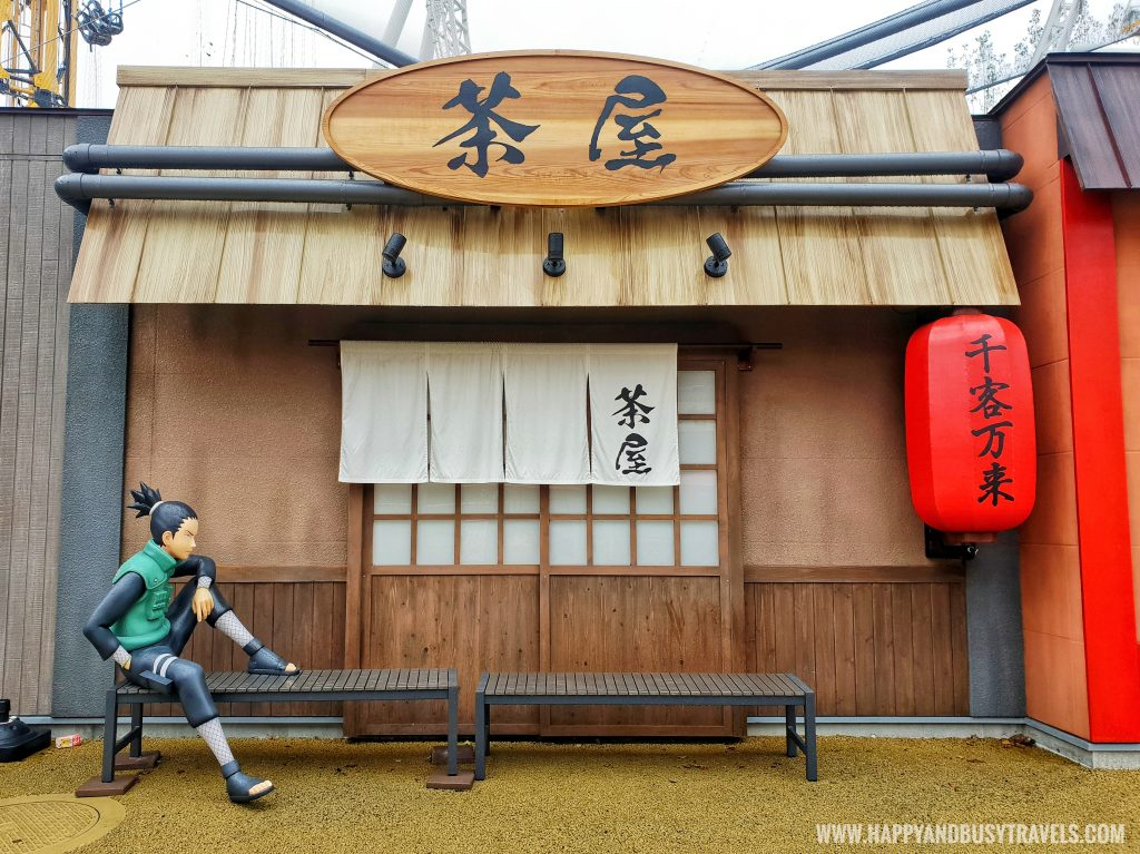 Hidden leaf village or ninja village in Fuji Q Highland Amusement Park Tokyo Japan review and experience of Happy and Busy Travels