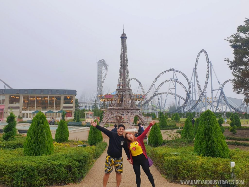 La Ville de Gaspard Et Lisa Garden little italy village Fuji Q Highland Amusement Park Tokyo Japan review and experience of Happy and Busy Travels