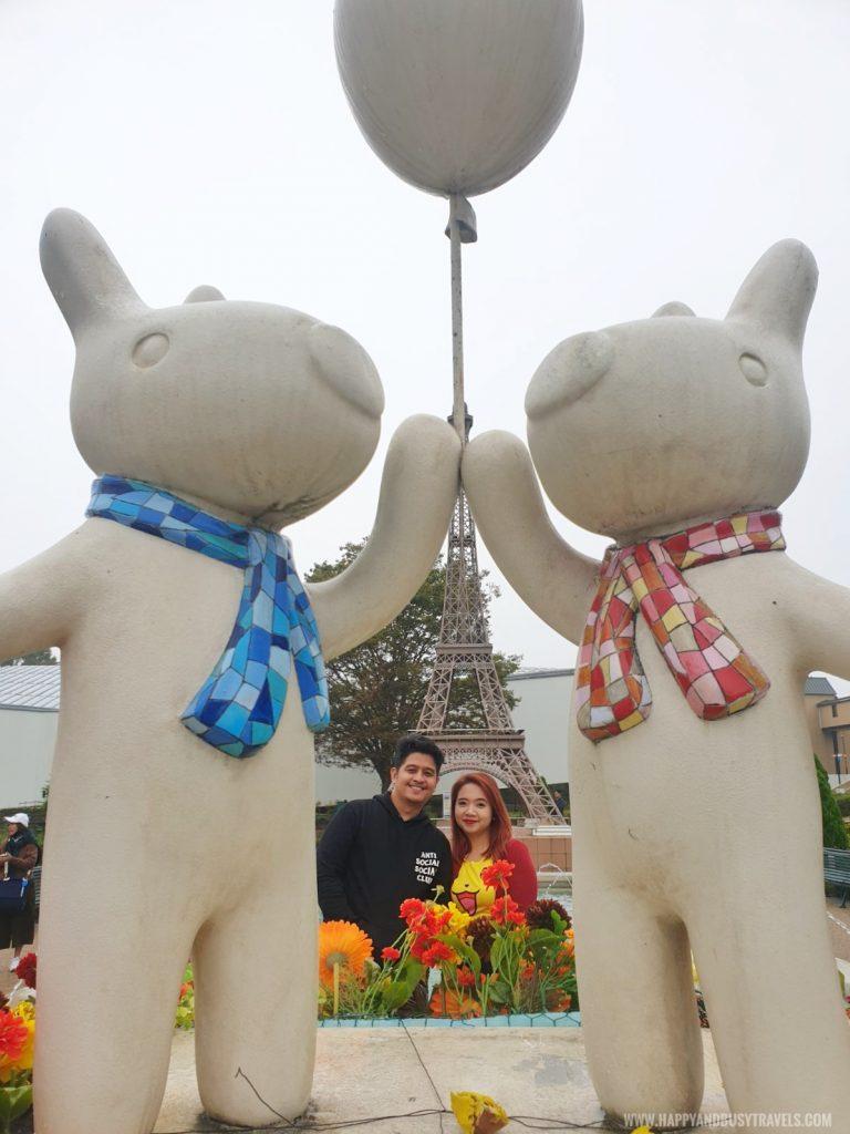 La Ville de Gaspard Et Lisa Garden little italy village Fuji Q Highland Amusement Park Tokyo Japan review and experience of Happy and Busy Travels