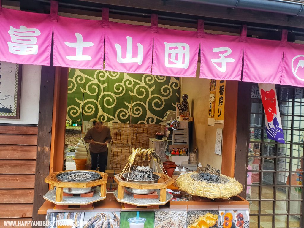 Japanese Traditional store in Fuji Q Highland Amusement Park Tokyo Japan review and experience of Happy and Busy Travels