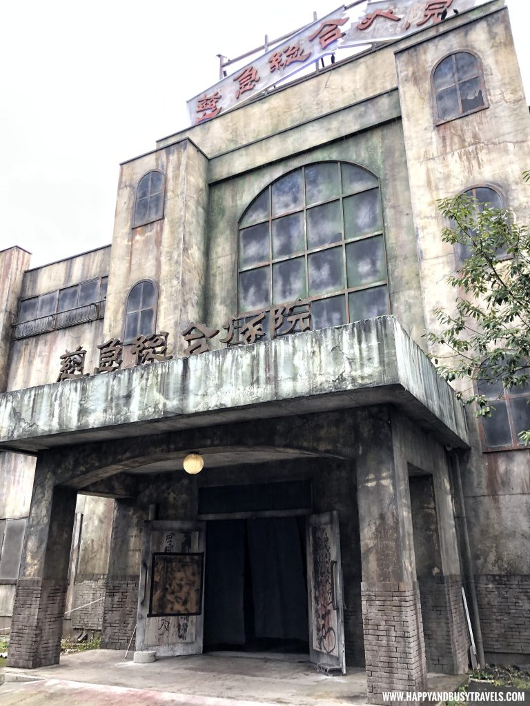 Haunted house Labyrinth of fear in Fuji Q Highland Amusement Park Tokyo Japan review and experience of Happy and Busy Travels