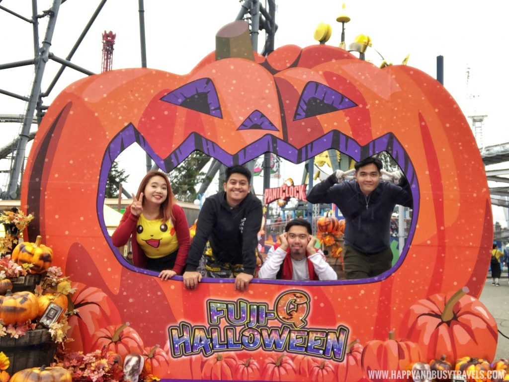 halloween in Amusement Park Tokyo Japan review and experience of Happy and Busy Travels