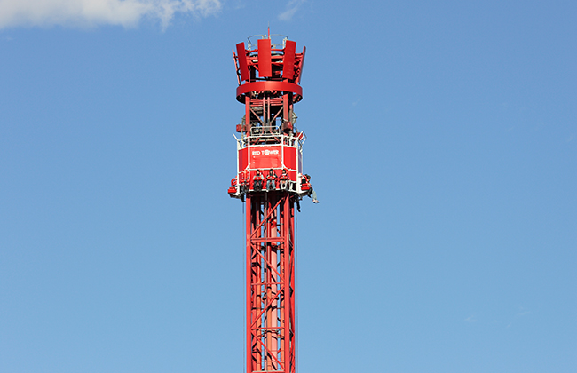 Red Drop Tower