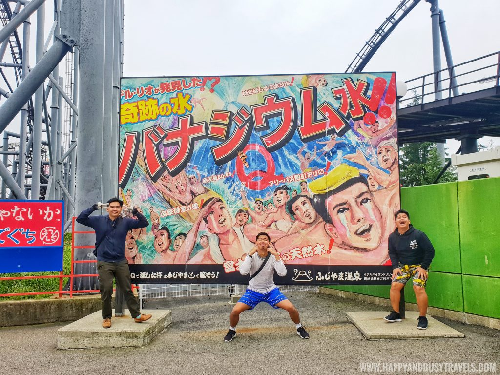 Eejanaika roller coaster ride in Fuji Q Highland Amusement Park Tokyo Japan review and experience of Happy and Busy Travels