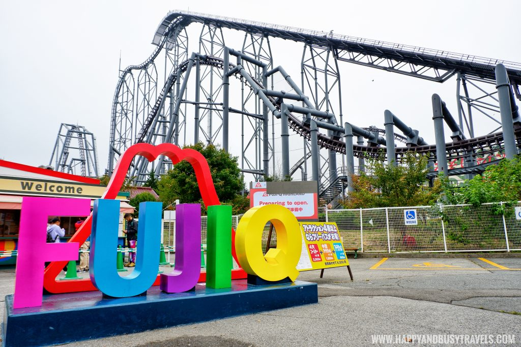 Fuji Q Highland Amusement Park Tokyo Japan review and experience of Happy and Busy Travels