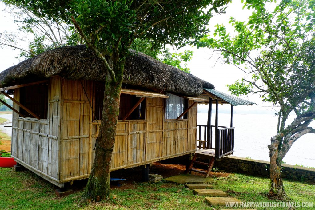 Nipa hut or kubo of Sierra Lake House Private Island for rent in Cavinti Laguna Happy and Busy Travels
