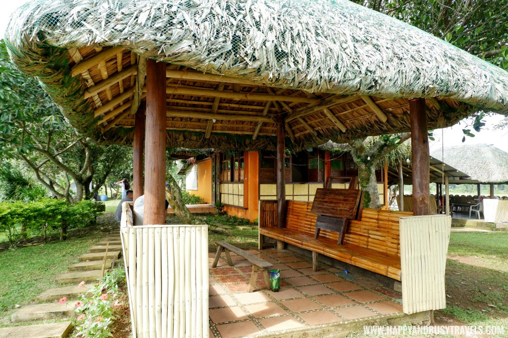Nipa hut in private island for rent
