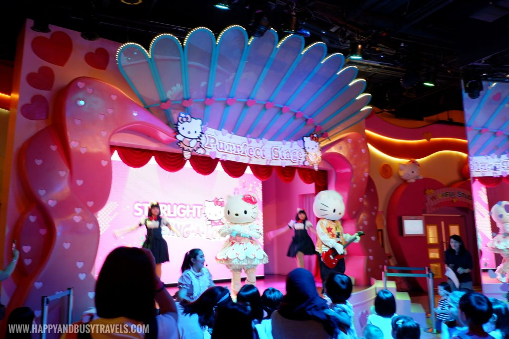 Purrfect Stage Hello Kitty Town Puteri Harbour Johor Malaysia Happy and Busy Travels