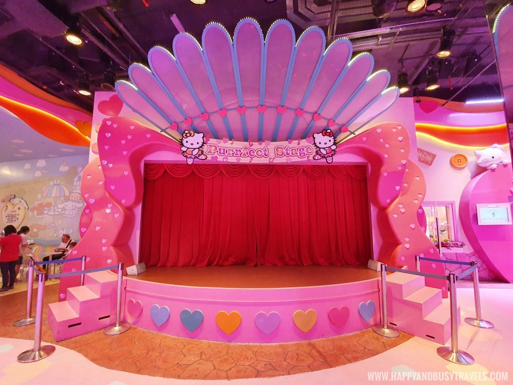 purrfect stage in Hello Kitty Town Puteri Harbour Johor Malaysia Happy and Busy Travels