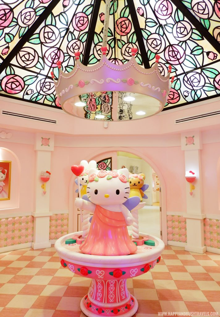 Hello Kitty statue in Hello Kitty Town Puteri Harbour Johor Malaysia Happy and Busy Travels