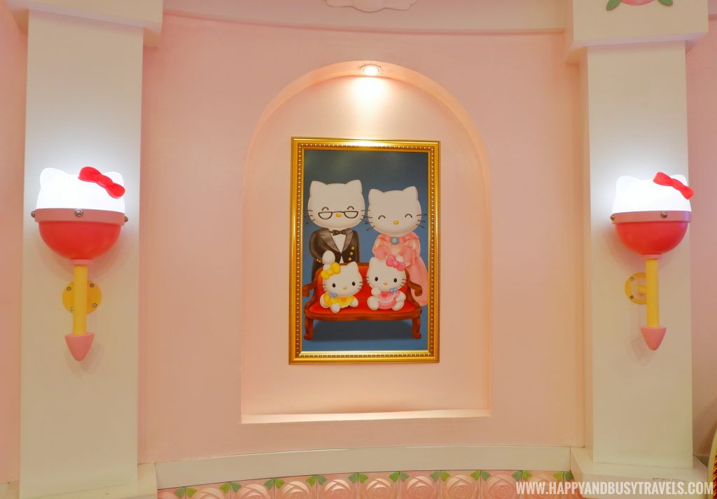 Hello Kitty family picture in Hello Kitty House