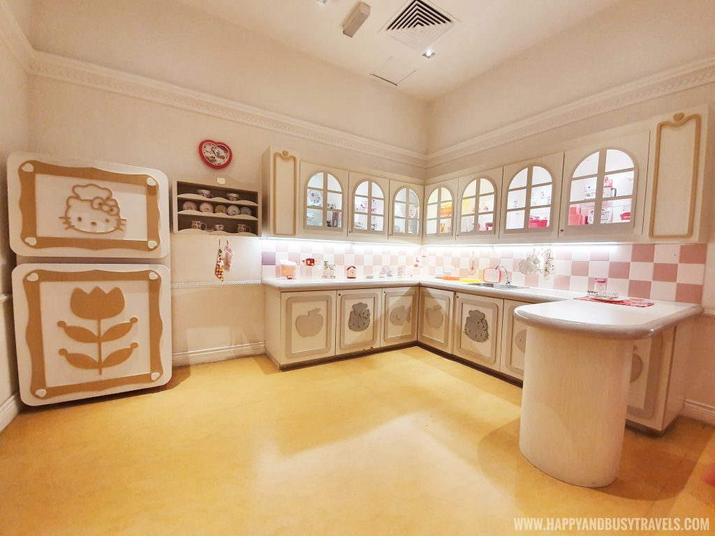 Kitchen in the Hello Kitty House in Hello Kitty Town Puteri Harbour Johor Malaysia Happy and Busy Travels