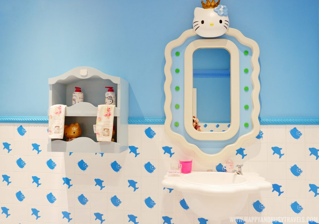 Comfort room of Hello Kitty in Hello Kitty Town Puteri Harbour Johor Malaysia Happy and Busy Travels