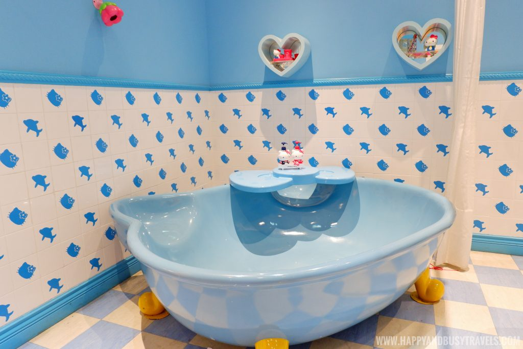 Bathtub in comfort room of Hello kitty in Hello Kitty Town Puteri Harbour Johor Malaysia Happy and Busy Travels