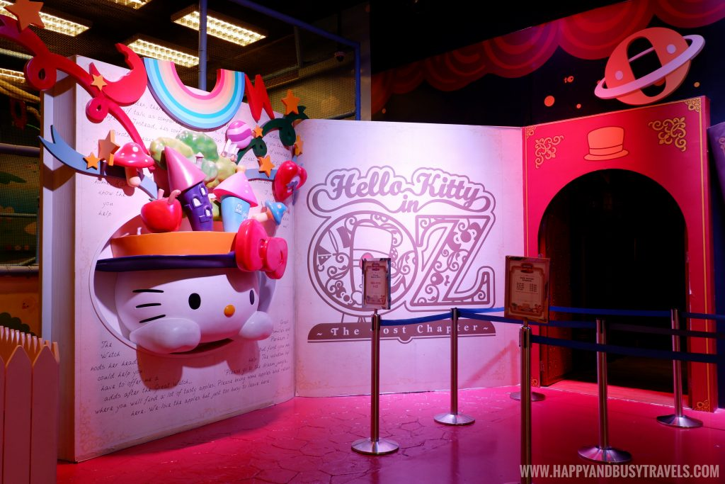 entrance of Hello Kitty in Oz the lost chapter Hello Kitty Town Puteri Harbour Johor Malaysia Happy and Busy Travels