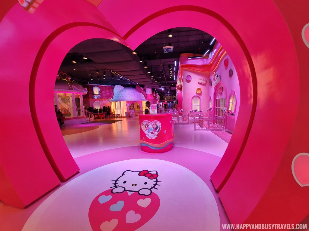 Entrance of Hello Kitty Town Puteri Harbour Johor Malaysia Happy and Busy Travels
